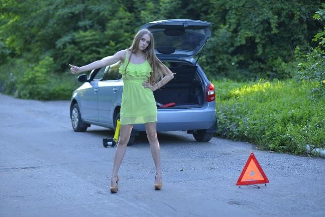 車を安全なところへ